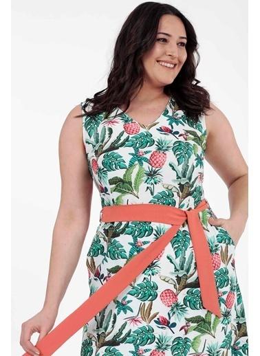 Vitrin XL Elbise Yeşil